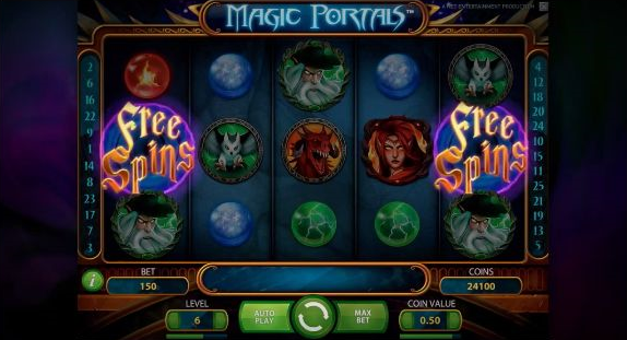 Netent Magic Portals Video Slot Free Spins