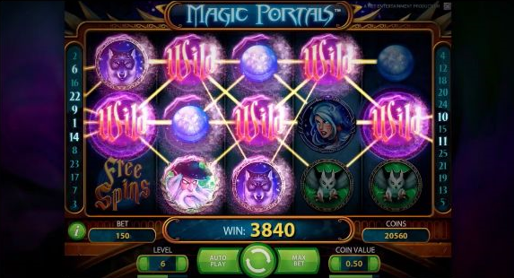 Magic Portals Video Slot